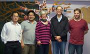 The Oasis Leadership Team. From Left: Rock Lo, Jeff Taguchi, Karen Pearson, Will Smit, Jon Wright (Photo: Michael Wijaya)