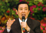 "Taiwan president Ma Ying-jeou says China has his policies with ""new pragmatism ... new sophistication""."