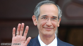 """President Alvaro Colom says the dead lawyer's claim was intended to cause """"political chaos"""" (Photo: CNN)"""