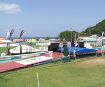'Carnival City' (Victoria Park) in Kingstown, the home of Vincy Mas