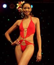 Miss St. Lucia Cathy Daniel Won The Swimwear Category