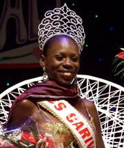 Ms Carival  2009, Grenadian Asheida Charles