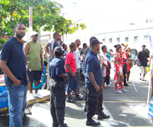 Police Ensure That Carnival Goers Were Safe.