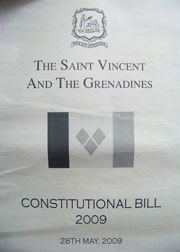 After Six Years Of Consultations, Vincentians Will Vote On A New Constitution In November.