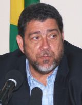 Prime Minister Dr. Ralph Gonsalves has sent a letter of solidarity to the government and people of Taiwan. (File photo)