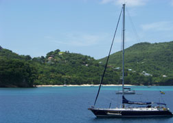 Climate change threatens the tourism industry in St. Vincent and the Grenadines and other island destinations.
