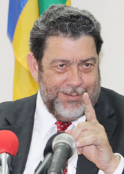 Prime Minister Dr. Ralph Gonsalves (File photo).