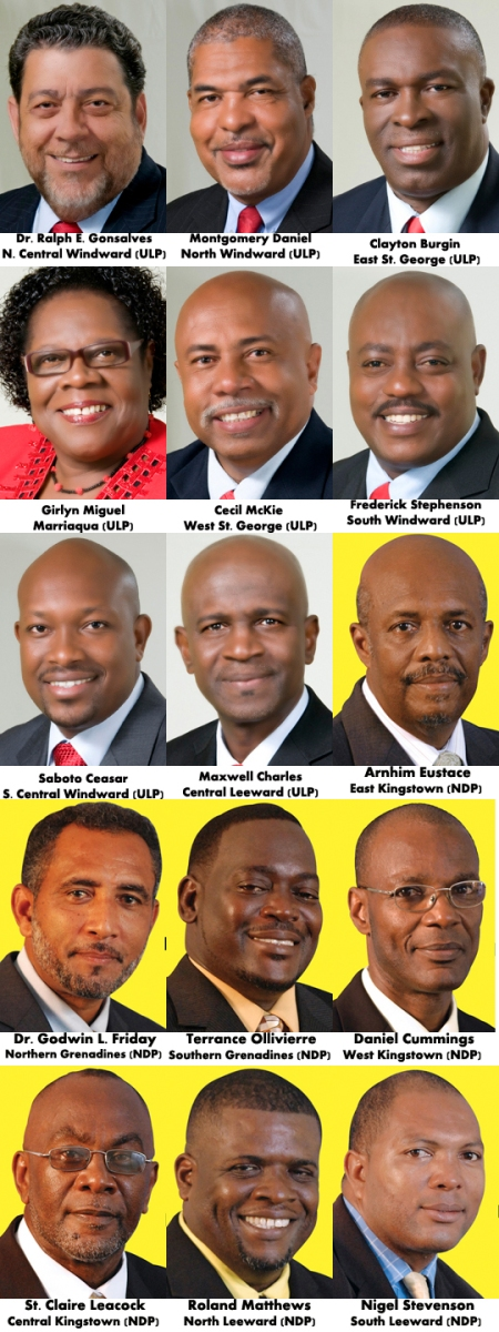 Members Of Parliament Elect