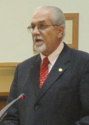 General Secretary of the Unity Labour Party, Sen. Julian Francis.