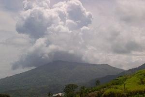 La Soufriere Clouds