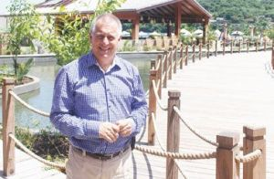 Dave Ames, chair of Harlequin Resorts (Photo: Searchlight.vc).