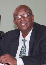 Opposition Leader Arnhim Eustace. (File photo).