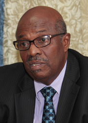 Opposition Leader Arnhim Eustace. (File photo)