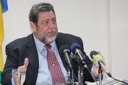 Prime Minister Dr. Ralph Gonsalves. (File photo)