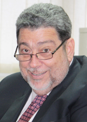 Prime Minister Dr. Ralph Gonsalves. (File photo)