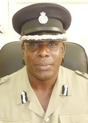 Acting Deputy Commissioner of Police Michael Charles.