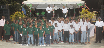 The Layou and Barrouallie Police Youth Clubs were launched in Layou on Sunday, Feb. 17, 2013.