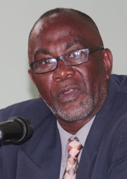 Central Kingstown representative, St. Clair Leacock (File photo).
