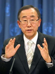 U.N. Secretary-General. Ban Ki-moon. (Internet photo)