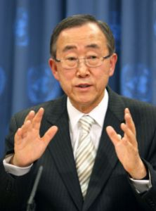 U.n. Secretary-General. Ban Ki-Moon. (Internet Photo)