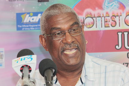 Chairman of the Carnival Development Corporation, Dennis Ambrose.