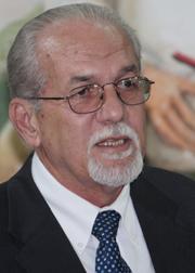 General Secretary of the Unity Labour Party, Sen. Julian Francis.