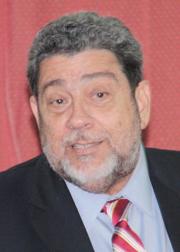 Prime Minister Dr. Ralph Gonsalves.