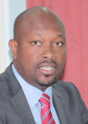 Minister Of Agriculture, Saboto Caesar.