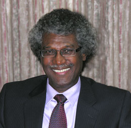 Sir K. Dwight Venner, governor of the Eastern Caribbean Central Bank.