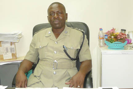 Superintendent of Police, Kenneth John, head of the Traffic Department.