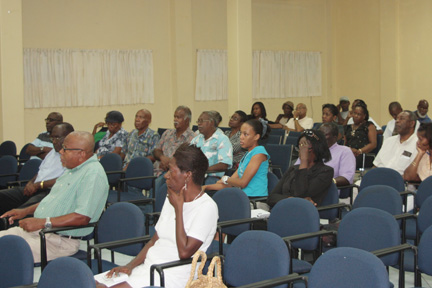 Share holders of the Building & Loan Association at the meeting on Tuesday.