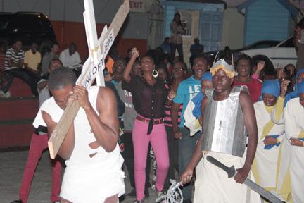Diadem Dancer performs Jerusalem at the launch of Gospel Fest.