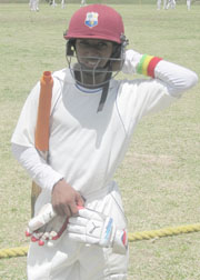 Grenadain talismanic batsman, Emmanuel Stuart.