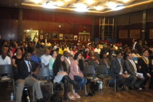 Section of the audience attending the Town Hall meeting organised by the SVG High Commission to the United Kingdom.