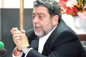 Prime Minister of St. Vincent and the Grenadines, Dr. Ralph Gonsalves.